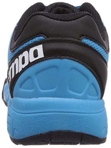 Kempa Tornado Black & Sky - Zapatillas de baloncesto Unisex adulto Mehrfarbig (dark sky/Negro)