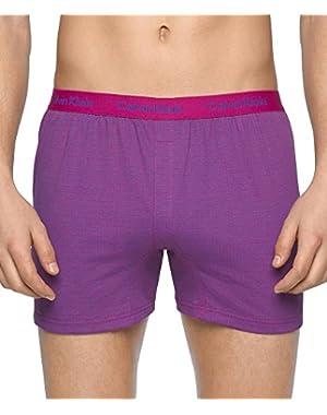 Calvin Klein Men's Boxer Matrix-Knit Slim Fit Boxer