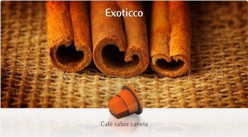 TÚ ESPRESSO for the ORIGINAL Nespresso system Capsules - ARABICA & CINNAMON - 10 caps / sleeve - 160 caps COUNT