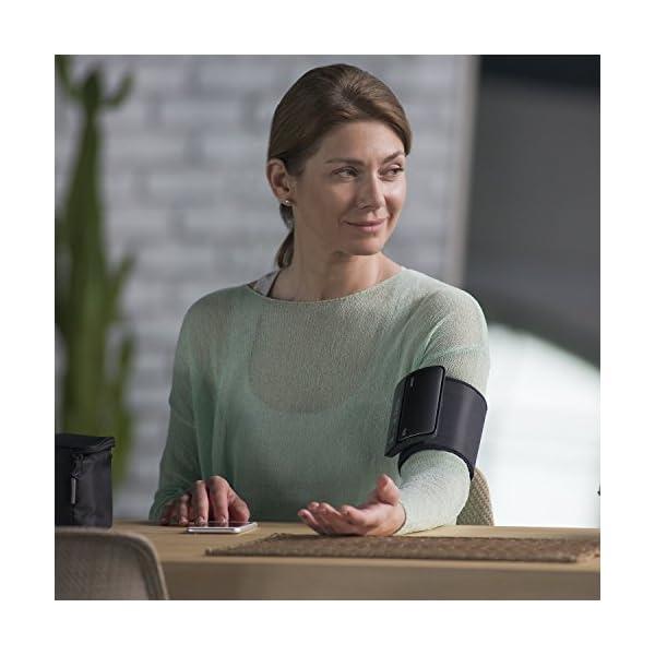 OMRON EVOLV - Tensiómetro de Brazo Todo en Uno, Inalámbrico, Bluetooth, Aplicación OMRON Connect para Móviles, Tecnología Intelli Wrap Cuff 6