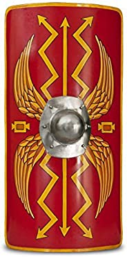 Medieval Warrior Functional Medieval Roman Armour Legion Scutum Shield 18G Steel Jumbo SCA LARP