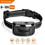 Bark Collar [2018 Upgrade] No Bark Collar Shock Collar Anti Bark Collar Stop Barking with Sound/Vibration/No Harm Shock,Rechargeable Rainproof No Bark Control for Small Medium Large Dog (black) For Sale