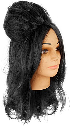 Snooki Black Dress Costumes (Snooki Wig)
