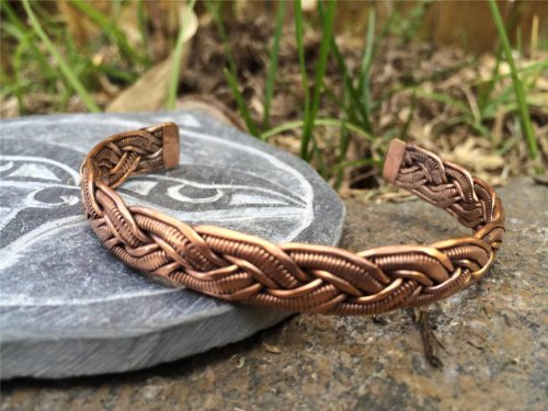 Handmade Copper Bracelet From Nepal