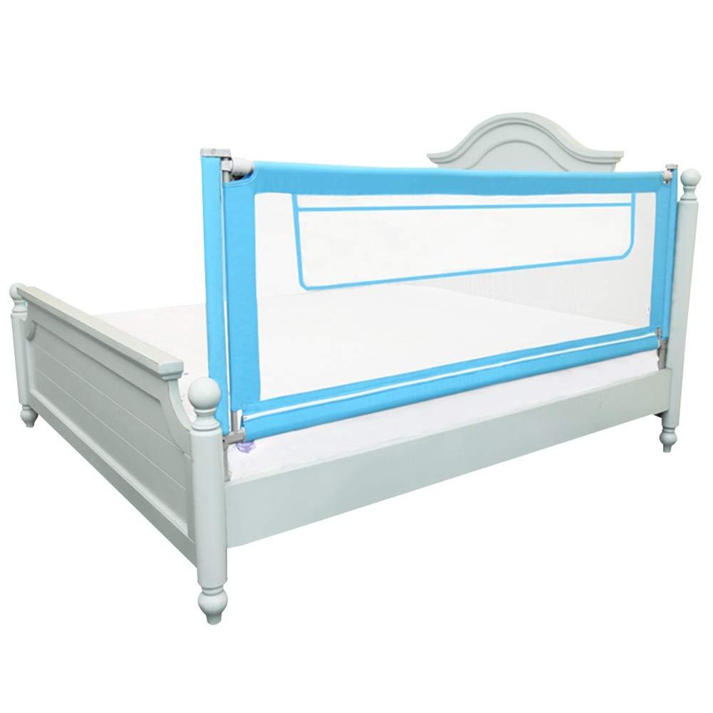 HENGYUS ベッドレール 赤ん坊の縦の上昇および落下の調節可能な高さの堅いステッチの通気性の安全のための4サイズ (Color : Blue, Size : 190x92cm) 190x92cm Blue B07SCPMD32