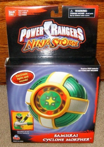 Power Rangers Ninja Storm Electronic Samurai Cyclone Morpher