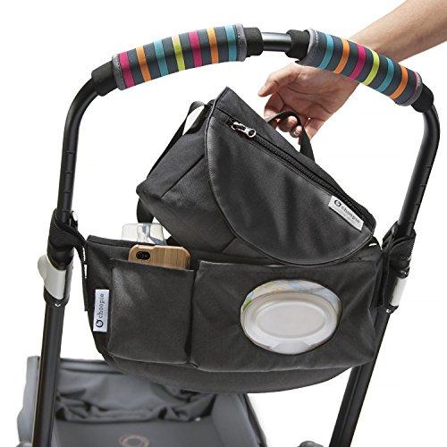 CityStroll 2-in-1 Stroller Organizer /Caddy & Take with You