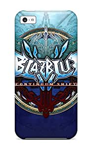Premium Case With Scratch-resistant/ Blazblue Case Cover For Iphone 5c 3194732K59722199