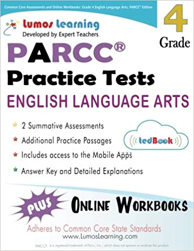Common Core Assessments And Online Workbooks Grade 4 Language Arts