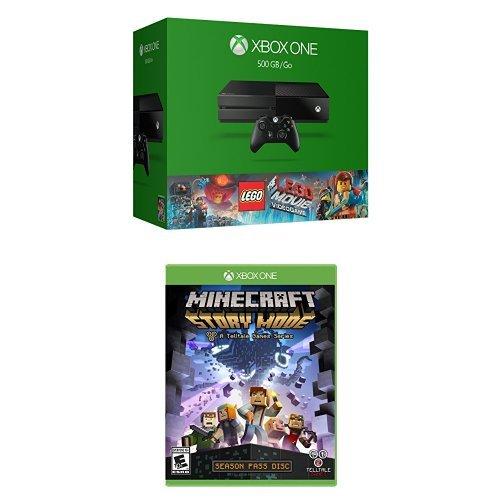 Xbox One 500GB Console Bundle Minecraft