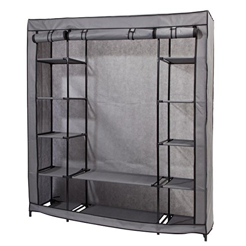 Miles Kimball Clothing Wardrobe with Shelves XL by Miles Kimball