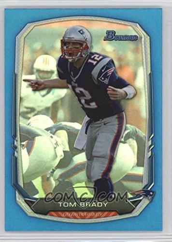 Football NFL 2013 Bowman Rainbow Blue #50 Tom Brady /99 Patriots by tom brady