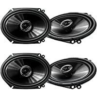 2) Pioneer 5x7 6x8 Inch 250 Watt G Series Coaxial Car Speakers Pair | TS-G6845R