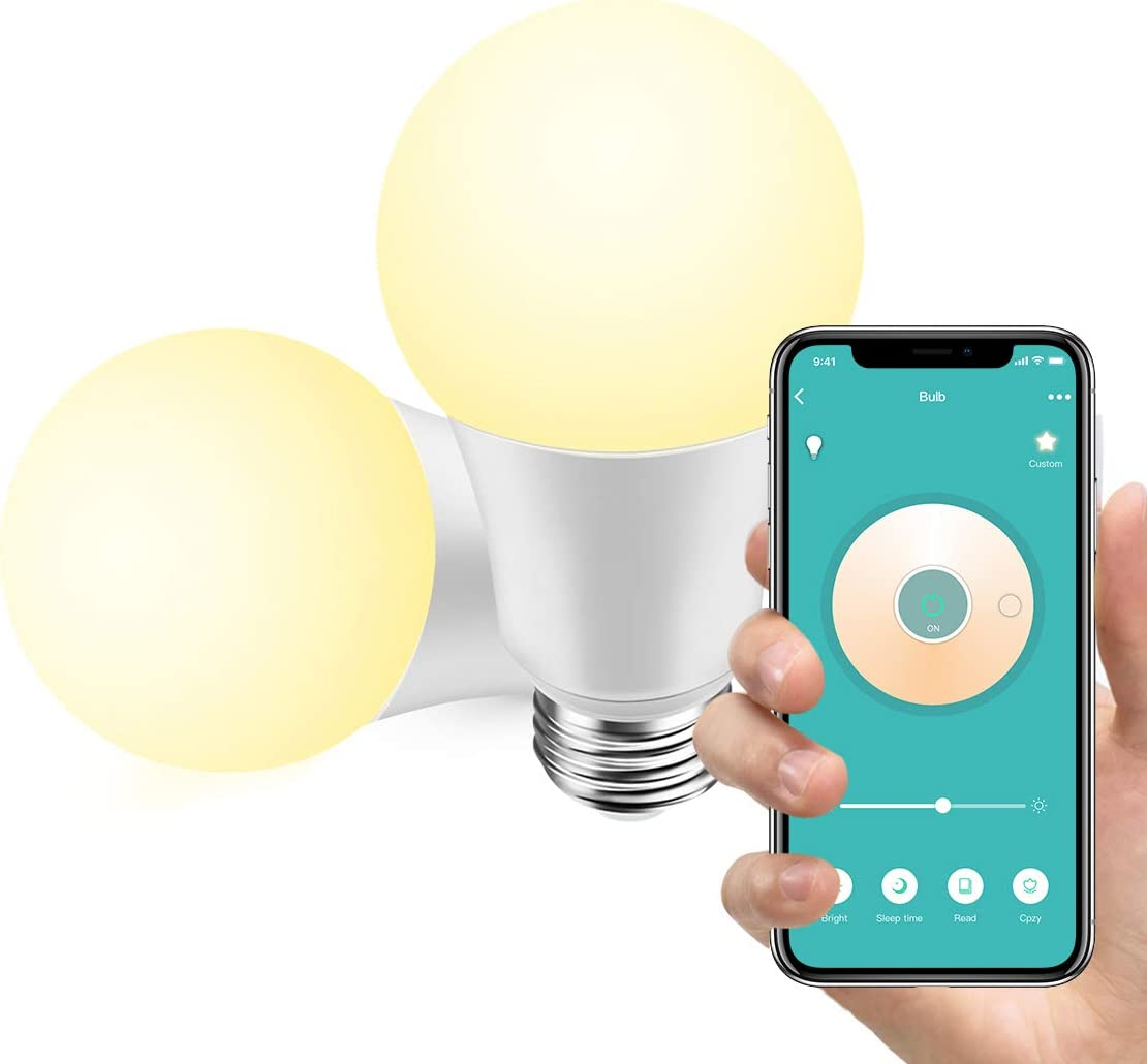 Konke Smart WiFi LED Bulb Dimmable