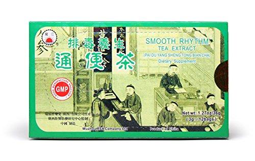 Yin Kong Smooth Rhythm Tea Extract (Pai Du Yang Sheng Tong Bian Cha) 12 Teabags