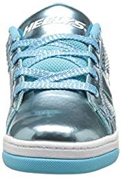 Heelys Split Chrome Skate Shoe (Toddler/Little Kid/Big Kid), Blue, 8 M US Big Kid