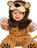 Rubie's Costume Cuddly Jungle Lil Lion Romper Costume, Golden, 12-18 Months