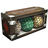 Game Of Thrones Limited Edition Dragon Egg Plush Box Set (2014 SDCC Exclusive)