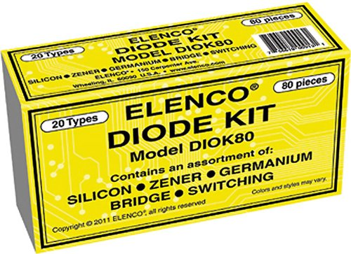 (Elenco Diode 80 Piece Kit)