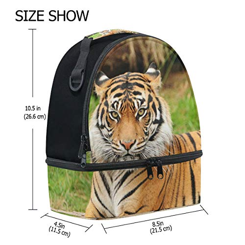 con ajustable Bengal almuerzo picnic Bolso Royal Cooler para de doble Tiger correa ttqAwX
