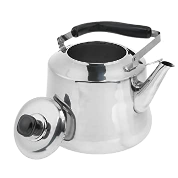 Whistling Kettle Stainless Steel Camping Kitchen Tea Coffee Water Pot 4 size