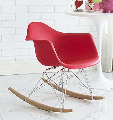 Modway Rocker Kids Chair, Red