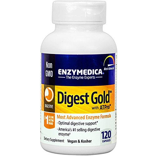Enzymedica - Digest Gold with ATPro, High Potency Enzymes fo