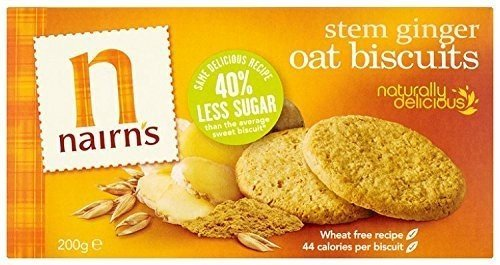 Nairns - Oat Biscuits - Stem Ginger - (Oat Biscuits)