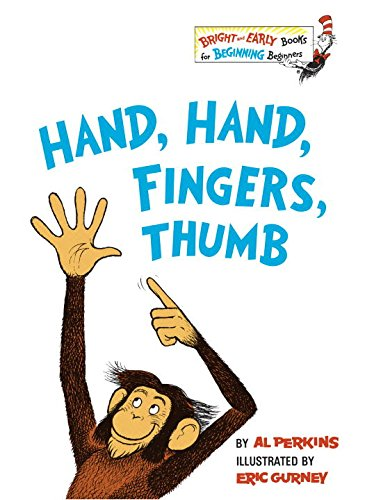 Hand Bright Green (Hand, Hand, Fingers, Thumb (Bright & Early Books))