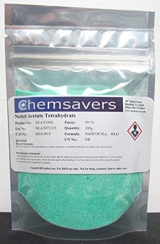 Nickel Acetate Tetrahydrate, 99.95%, - 100 Acetate