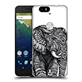 Head Case Designs Elephant Ornate Wildlife Hard Back Case for Huawei Nexus 6P