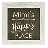 The Grandparent Gift Mimi Frame Happy Place Grandparent Sign