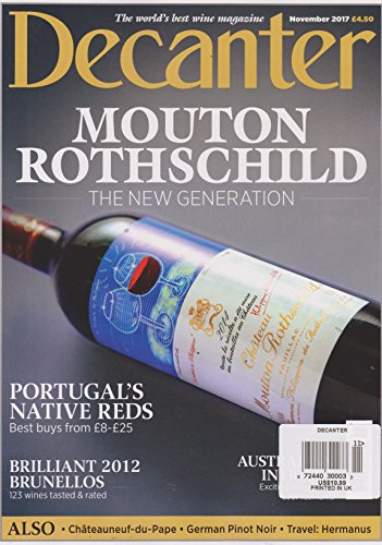 Decanter Magazine November 2017
