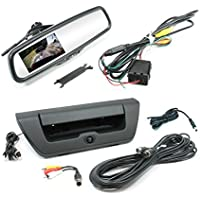Rostra 250-8308-FDL15 Rostra 250-8308-FDL15 Tailgate Camera with LCD Rearview Mirror