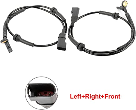 ANGLEWIDE 1 x ABS Wheel Speed Sensor Right+Front Replacement for 2003-2011 Honda Element