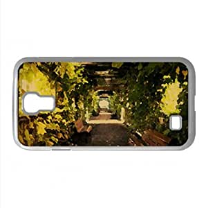 Alley Watercolor style Cover Samsung Galaxy S4 I9500 Case (Autumn Watercolor style Cover Samsung Galaxy S4 I9500 Case)