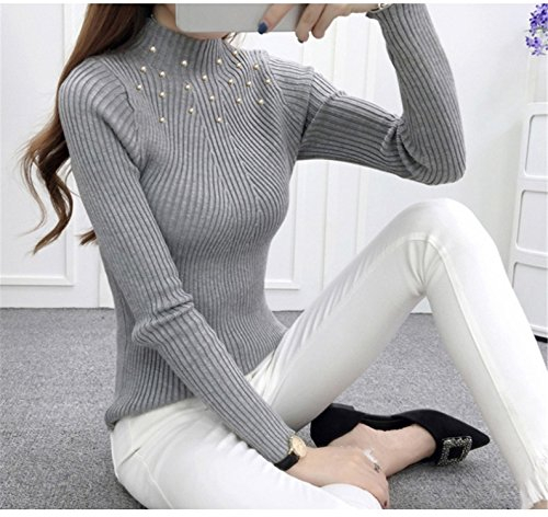 Beaded Cashmere Sweater - 4