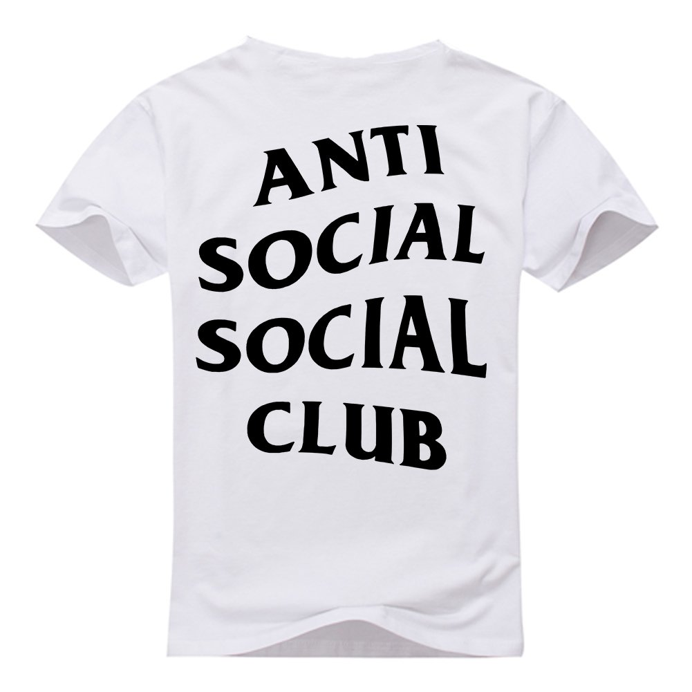 AntiSocialSocialClub Men's Short Sleeve T-Shirt S-3XL
