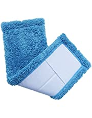 Mops Pads Replacement Washable Coral Velvet Mop Cloth Home Cleaning Tools Coral Velet Refill Household Dust Mop Head Replacement - 1PC Blue/Yellow/Hot Pink/Orange
