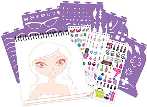 - Fashion Angels Make Up and Hair Design Portfolio Sketchbook by Fashion Angels
