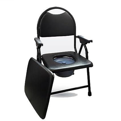 Amazon.com: Mueve la silla plegable de inodoro para hombre ...