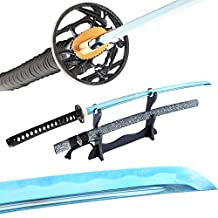 Blue Blade Katana Full Tang Real Sharp Japanese Samurai Sword Handmade