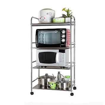 Estante de Almacenamiento la repisa de la panadería de la Cocina, Soporte de microondas Mesa