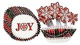 Set of 384 Christmas Cupcake Kit - Christmas Packs