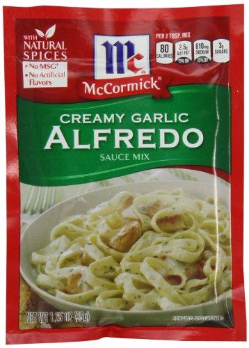McCormick Creamy Garlic Alfredo Sauce