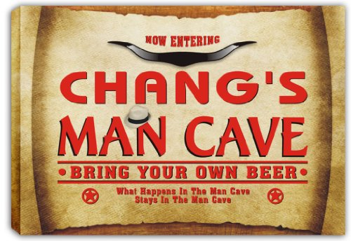 scpb1-0949-changs-man-cave-cowboys-beer-bar-stretched-canvas-print-sign
