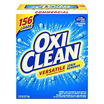 OxiClean 5703700069CT Versatile Stain Remover, Regular Scent, 7.22 lb Box (Case of 4