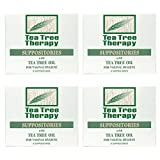 Tea Tree Therapy Vaginal Suppositories with Oil (4-Pack of 6)