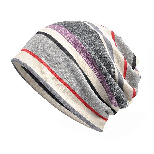 MaxNova Womens Slouchy Beanie Infinity Scarf Sleep Cap Hat For Hair Loss  Cancer Chemo aa7d9ca418d