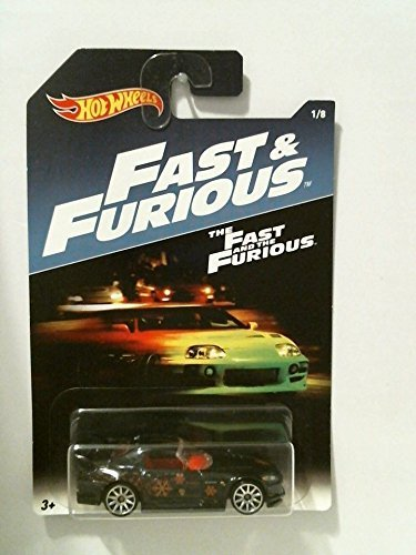 hot wheels fast furious honda s2000 black car new rare 1/8 (Diecast Honda S2000)